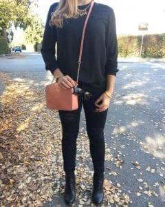 Heute mal schwarz Outfit, Look, Fashion, Blogger, Fashionblogger, Stylist, Fantastique, Salzburg, Visagist, Styleblogger, Austria